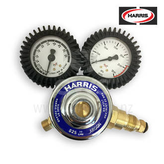 Harris® Regulator Argon MIG Twin Gauge