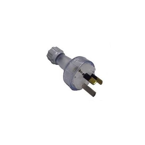 Plug Male Clipsal Clear 10A